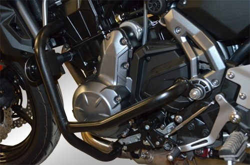 Kawasaki Z650 (2017-2018) Engine Bars In Black